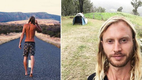 Richard Barry has spent the last two years on the road and living in a tent in a bid to avoid mould.