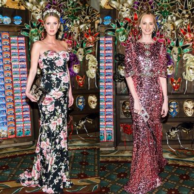 Heiress Nicky Hilton and co-founder of Moda Operandi Lauren Santo Domingo