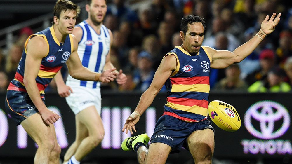 Port Adelaide Power fan receives death threats after calling Adelaide Crows player Eddie Betts an ape
