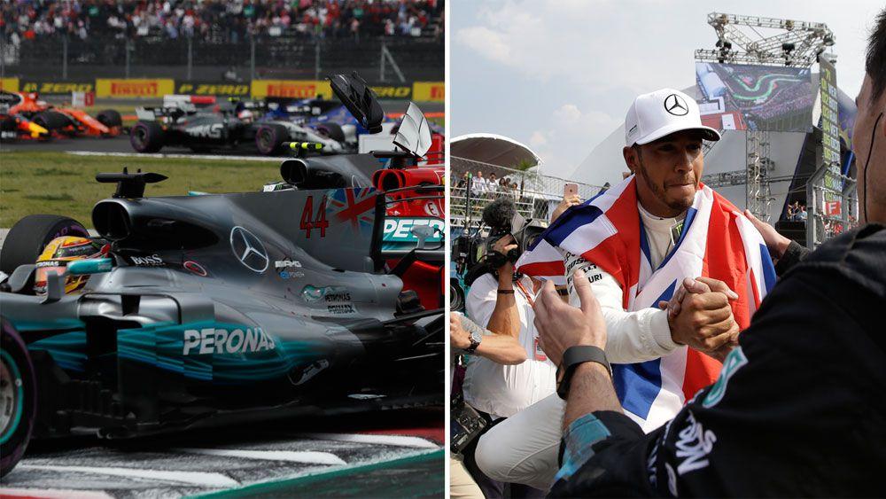 Hamilton in elite company with 4 F1 titles