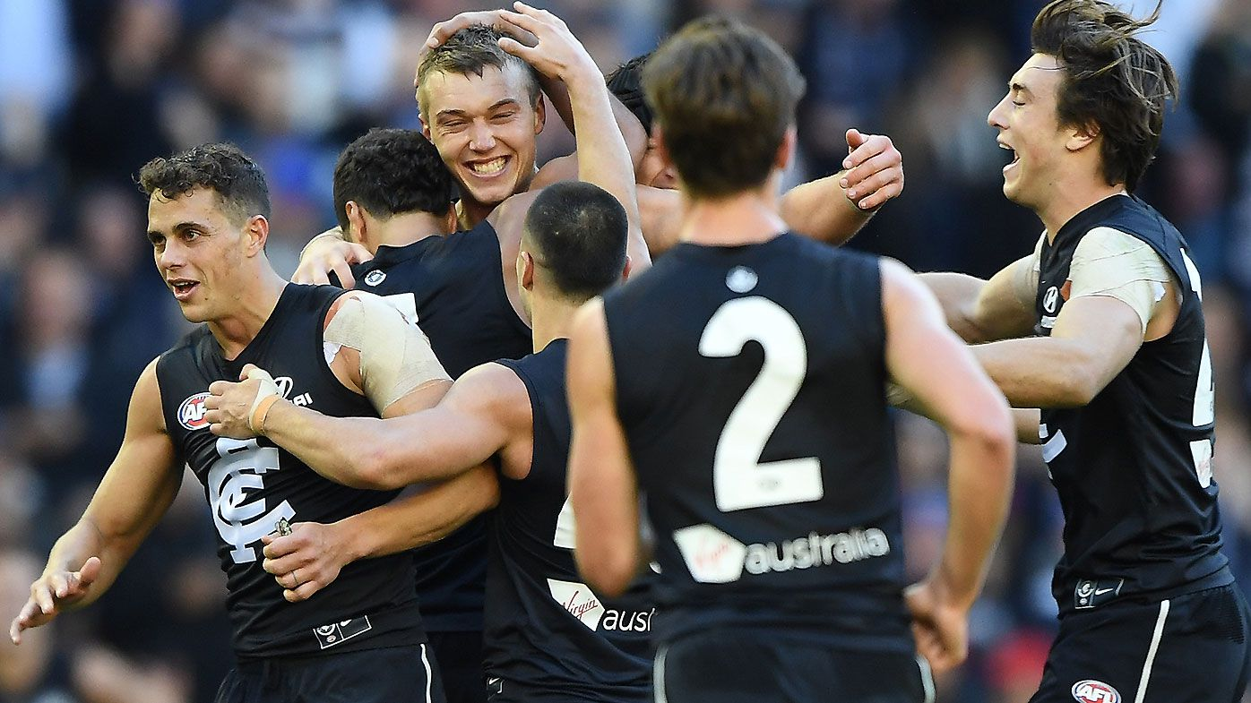 AFL legend Matthew Lloyd explains why Carlton is poised for a major leap in 2020