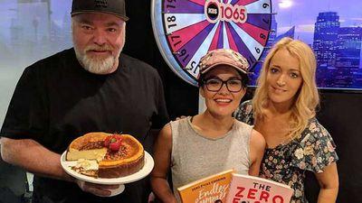Yumi Stynes feeds 'breastfeeder's ricotta cheesecake'
