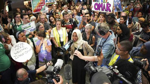Ilhan Omar is one of two Muslim women currently serving in Congress.