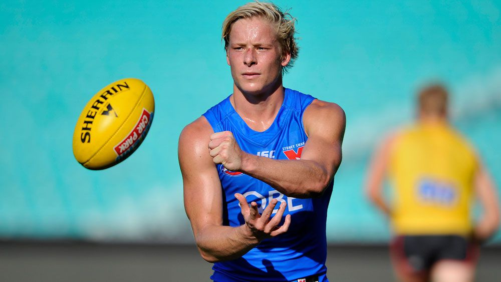 Sydney Swans youngster Isaac Heeney loses voice during live Melbourne radio interview