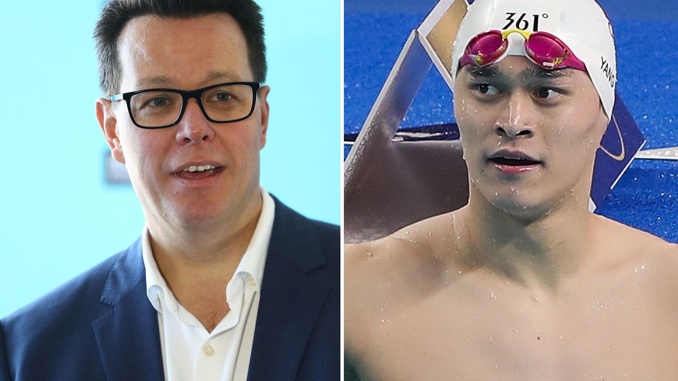 EXCLUSIVE: Kieren Perkins says China will face scrutiny if Sun Yang swims well at Tokyo Olympic Games
