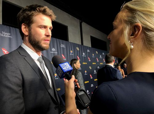 Liam Hemsworth is being honoured at the gala.