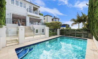 The property in Maroubra, Sydney.