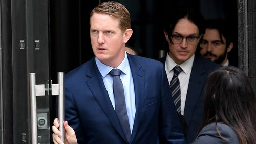 Commonwealth Bank is one of the financial institutions under the spotlight of the Royal Commission. CBA executive Daniel Huggins gave evidence last week on behalf of the lender. Picture: AAP.