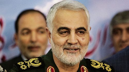 A US drone strike killed Qasem Soleimani, the powerful commander of the country's elite Quds Force, last week.