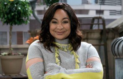 Raven-Symoné on her Disney sitcom Raven's Home.