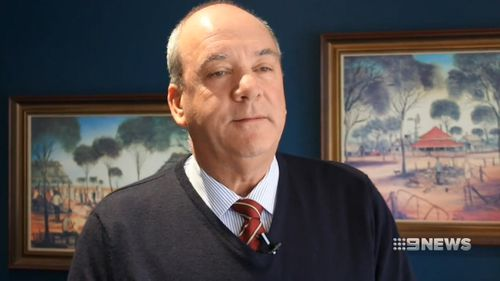 Daryl Maguire has confirmed he will resign. Image: 9News