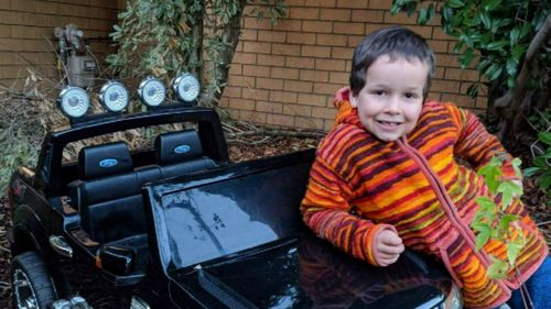 The six-year-old Canberra boy went missing last Thursday from his school playground.