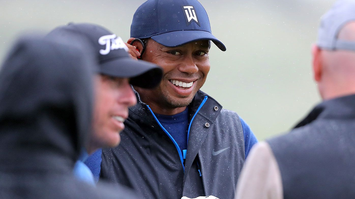 Tiger Woods at Portrush