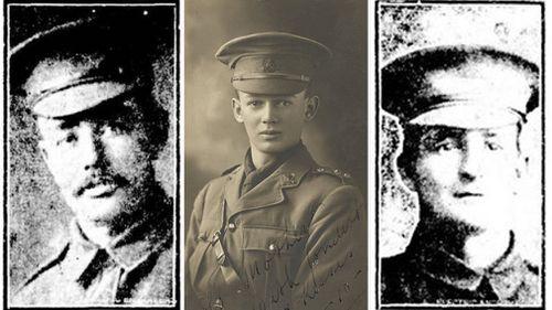 Nine Australian World War One soldiers formally identified