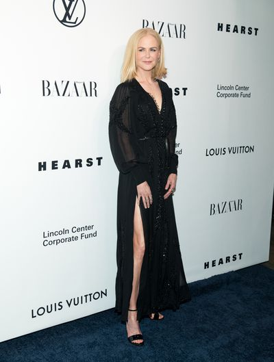 <p><strong>Nicole Kidman 2</strong></p> <p>In Louis Vuitton for an evening honouring designer Nicolas Ghesquiere in New York on November 30.</p>