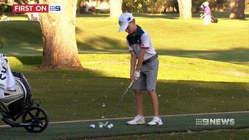 Aussie schoolboy wins international golf tournament