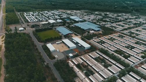 The quarantine site near Darwin in the NT where passengers have been taken for a further 14 days.