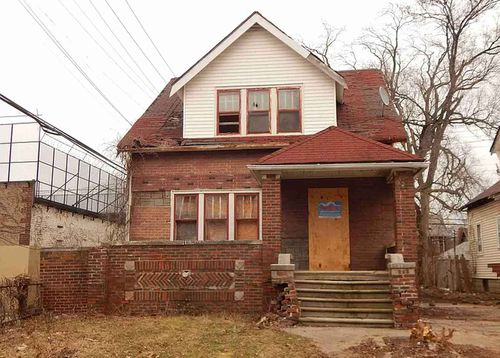 With the population well less than half its 1950 peak, many homes in Detroit are empty.