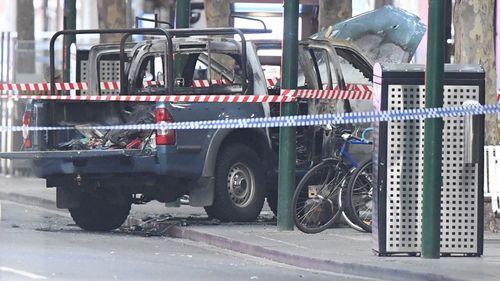 The terrorist's car.