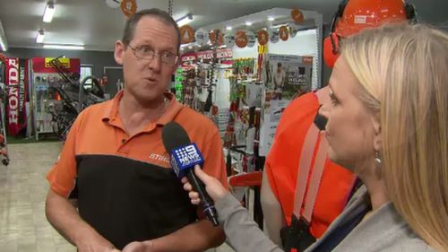Store owner Adam Robinn told 9NEWS his business has been targeted six times. (9NEWS)