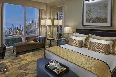 <strong>Presidential Suite, Mandarin Oriental, New York, New York City&nbsp;</strong>