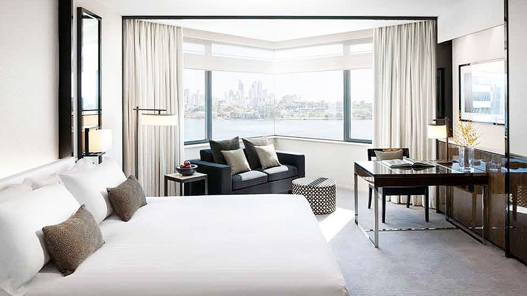 King room at Crown Metropol (supplied)