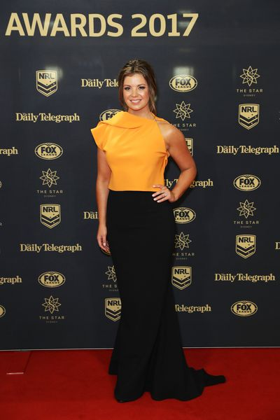 Fox Sports presenter Yvonne Sampson