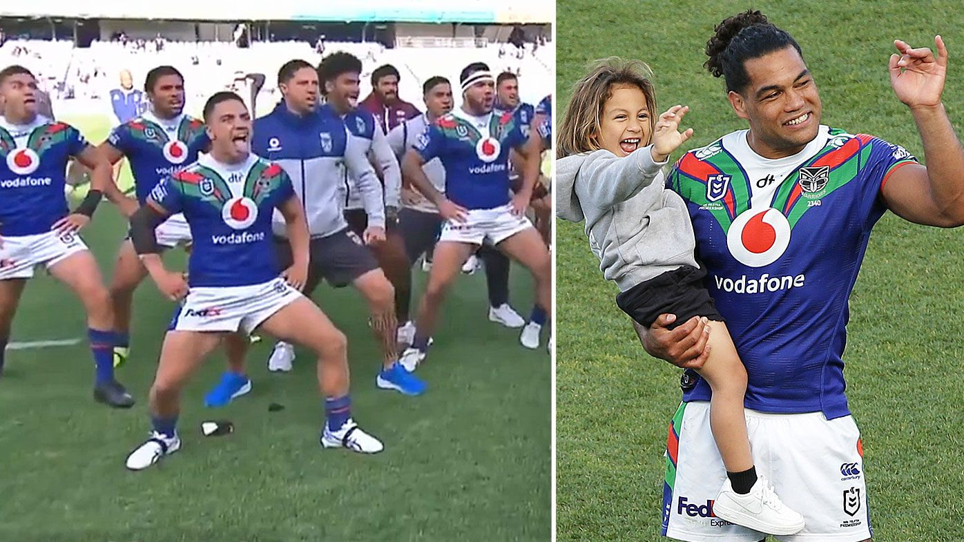 Retiring Warrior Adam Blair given perfect Haka send-off after New Zealand thrash Manly Sea Eagles