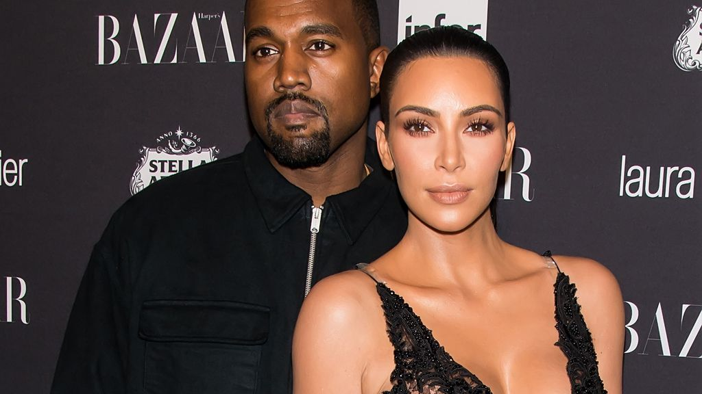 Kanye made sure that wife Kim was rewarded with an epic 'push' present. Image: Getty.