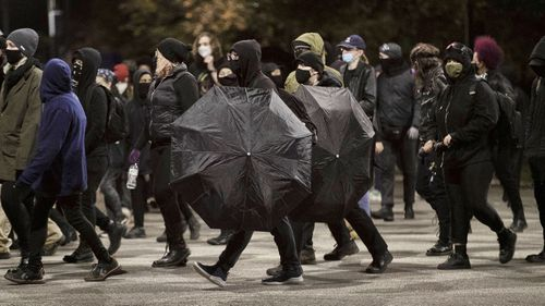 US election protests