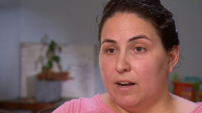 Carla Frost told A Current Affair the overhead pedestrian and cycle path has left her family with little privacy.