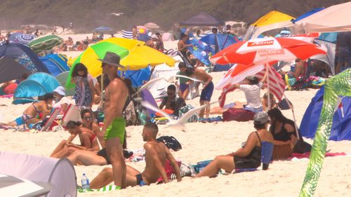 Tourists have been urged to visit other seaside spots in the area to reduce the pressure on Hyams Beach.