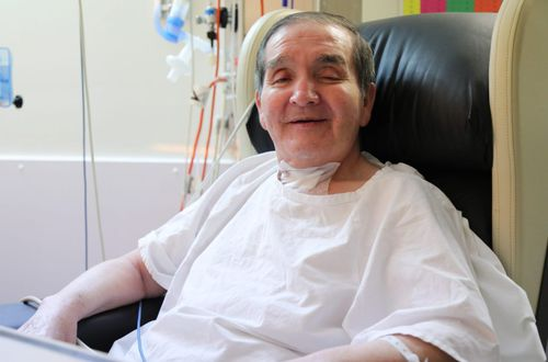 David Mellado goes home after 399 days in Westmead Hospital with coronavirus.
