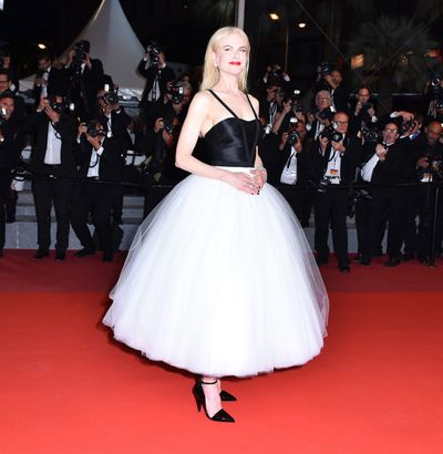 Nicole Kidman, 49, at the premiere of&nbsp;<em>The Killing of a Sacred Deer&nbsp;</em>in Cannes in Calvin Klein.