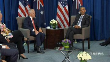 VIDEO: President Obama reassures PM Turnbull over future of US alliance
