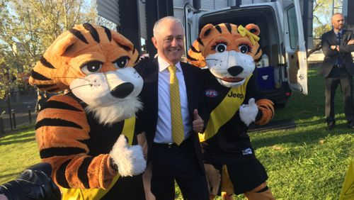 Mr Turnbull tipped the Tigers by five points.