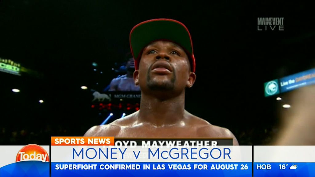 Mayweather and McGregor to fight in August