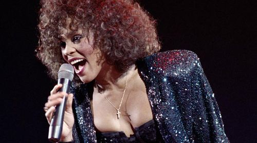 Whitney Houston performing in 1988. (Getty)