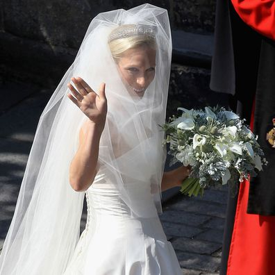 Zara Phillips on her wedding day, 2011.