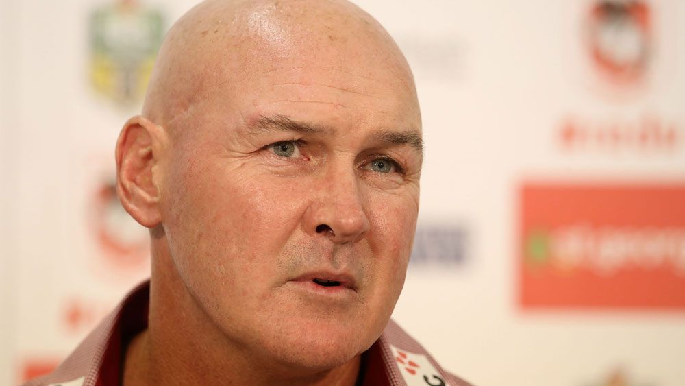 NRL rise cold comfort for gutted St George Illawarra Dragons coach Paul McGregor