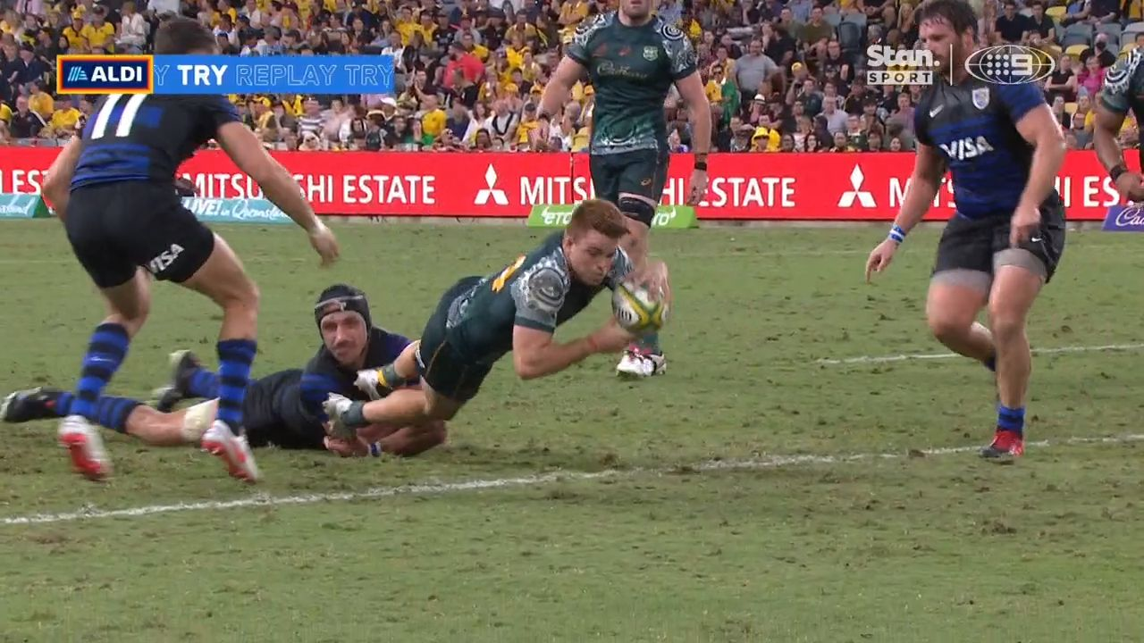 Wallabies player ratings from Rugby Championship win over Argentina
