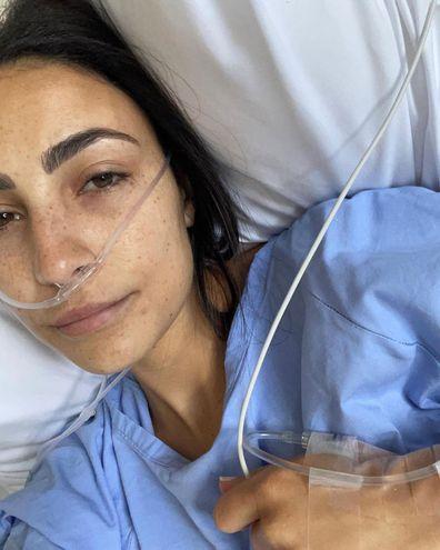 Tayla Damir Love Island Australia Endometriosis surgery symptoms