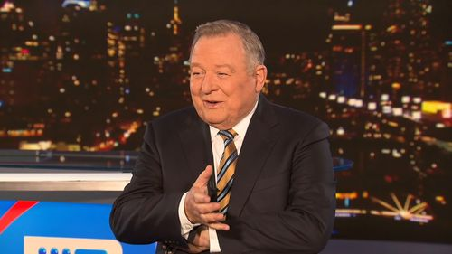Peter Hitchener in 9News unmasked.