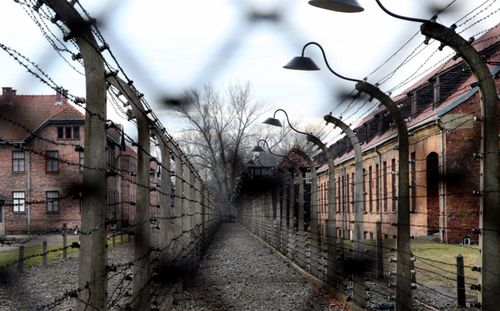 One million Jewish prisoners perished inside Auschwitz concentration camp.