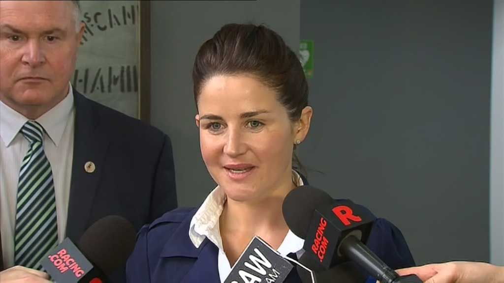 Michelle Payne cops four-week suspension