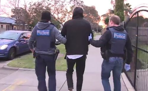 The warrants were executed in relation to a series of alleged incidents which occurred in Melbourne's south eastern suburbs between 26 July and 7 August.