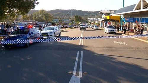 The shooting occurred in Warners Bay, in the Lake Macquarie region. (9NEWS)