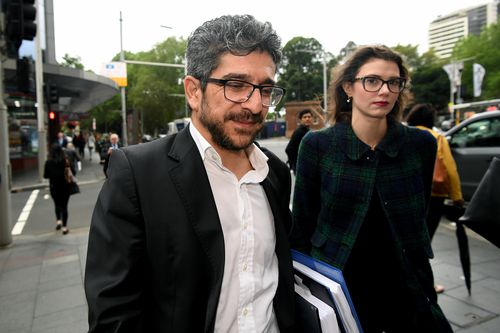 Renas Lelikan's defence argued he is not a soldier, he is a writer, journalist and social commentator.