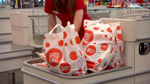 The single-use plastic bag ban is now back in force at Coles.