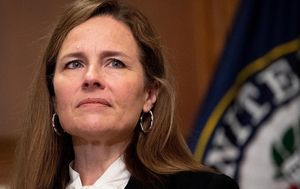 Donald Trump declares 'momentous day' as Amy Coney Barrett sworn in as judge for US Supreme Court